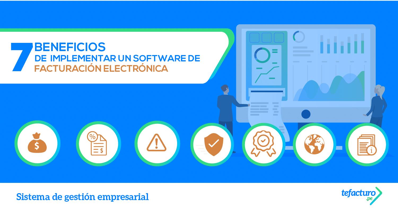 beneficios software de facturación electrónica
